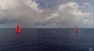21022018 MAPFRE and Dongfeng at the doldrums